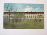 Rara! Serbia-Zemun/Semlin-Cazarma armatei Austro-Ungare WWI,carte post.cir.1916, Circulata, Printata