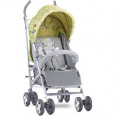 Carucior Sport Ida cu Acoperitoare de Picioare, Colectia 2019 Green & Grey Elephant