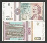 ROMANIA  1000  1.000  LEI  1991  [01]  a  UNC  , necirculata , cu punct