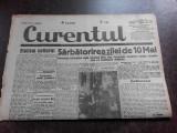Ziarul Curentul , director Pamfil Seicaru , 12 mai nr.1893/1933
