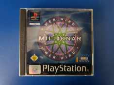 Who Wants to Be a Millionaire - joc PS1 (Playstation 1) foto