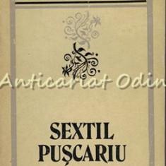 Sextil Puscariu. Critic Si Istoric Literar - Mircea Vaida