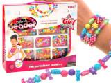 Cumpara ieftin Set Creativ Bratari cu Litere Colorate, Oem