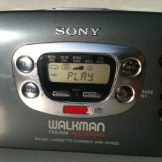 Sony Walkman radio casetofon recorder cu inregistrare reportofon functional rar