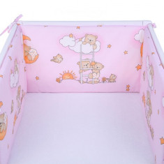Set 2 aparatoare laterale patut Sleepy Teddy Bear Pink 008