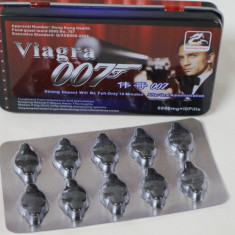 Pastile erectie maxima AGENT 007