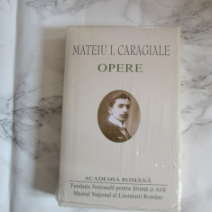 MATEIU CARAGIALE OPERE, ACADEMIA ROMANA