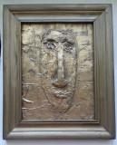 BASORELIEF SEMNAT FLORESCU, Portrete, Acrilic, Abstract