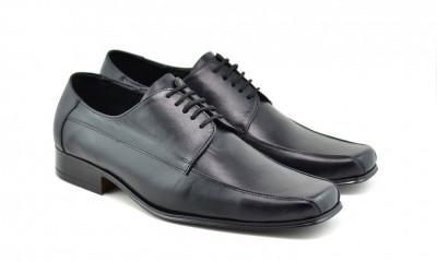 Pantofi barbati eleganti din piele naturala - STD351SIRET foto