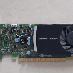 Placa video Nvidia Quadro 400 512Mb/DDR3/64 bits, PCI Express, 512 MB