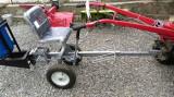 Scaun tapitat - carut reglabil cu roti pentru motocultor motosapa NOU