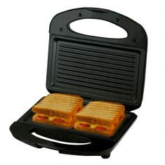 Sandwich-maker MD MSM-3501, 750 W, placa tip grill, Negru