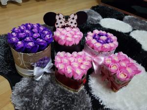 Aranjamente din trandafiri