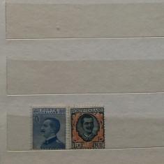 Timbre Italia 1923 - 2 Valori serie completa nestampilata MNH+MH (cota 77 euro), Stampilat
