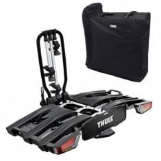 Cumpara ieftin Suport biciclete Thule EasyFold XT 3 cu prindere pe carligul de remorcare pentru 3 biciclete