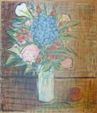 Iosif Rosenbluth - Vas cu flori, Ulei, Altul
