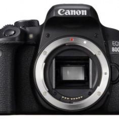 Aparat Foto DSLR Canon EOS 800D, Body, 24.2 MP, Full HD, Wi-Fi (Negru)