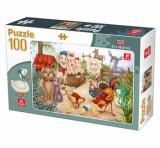 Cumpara ieftin Puzzle Animale Domestice, 100 piese