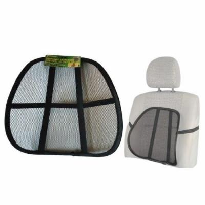 Husa scaun auto cu suport lombar spatar RoGroup foto