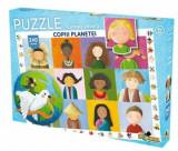 Cumpara ieftin Puzzle Lumea vesela - Copiii planetei, 240 piese, Noriel