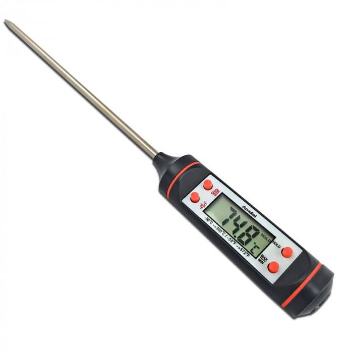 Termometru digital pentru mancare, oprire automata