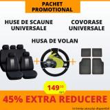 Pachet Promotional Huse Scaune & Husa Volan & Covorase PP4