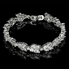 Bratara placata cu Aur 18K si Diamante, Delia