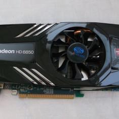 Placa video Sapphire HD 6850 1gb ddr5 / 256 bits DX11, PCI Express, 1 GB, AMD