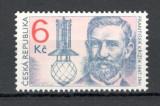 Cehia.1997 150 ani nastere F.Krizik-inginer electrotehnic  XC.50, Nestampilat
