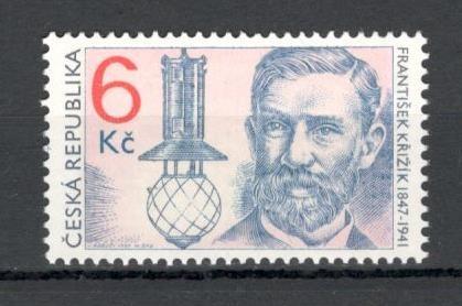 Cehia.1997 150 ani nastere F.Krizik-inginer electrotehnic  XC.50