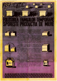 A820 Afis romanesc incurajare stuparit perioada comunista