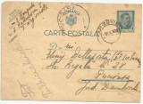 România, carte poștală 1 cu marcă fixă Carol al II-lea, 4 lei