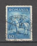Romania.1932 Regele Carol II calare  stampilate  GR.41