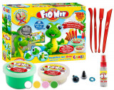Cumpara ieftin Set de joaca cu plastelina - model Dino