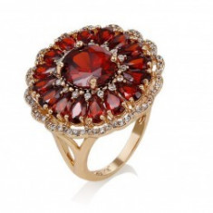 Inel Anebris Glamour Red Garnet