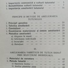 CONTRIBUTIUNI LA AMELIORAREA TUTUNULUI, 1936