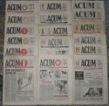 ziar Acum,director Al Paleologu, anul I,17 nr ,1991,ziare dupa Revolutie anii 90