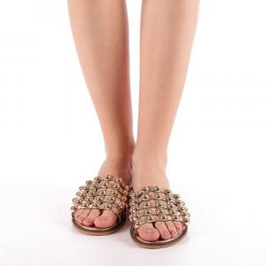 Papuci dama Ines sampanie