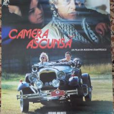 Afisul filmului Camera ascunsa , de Bogdan Dumitrescu , 2004 , afis film