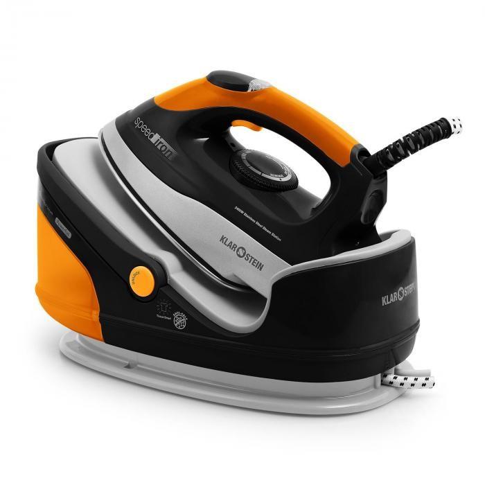 Klarstein Klarstein Viteza de fier cu abur, 2400 W Orange 1.7L