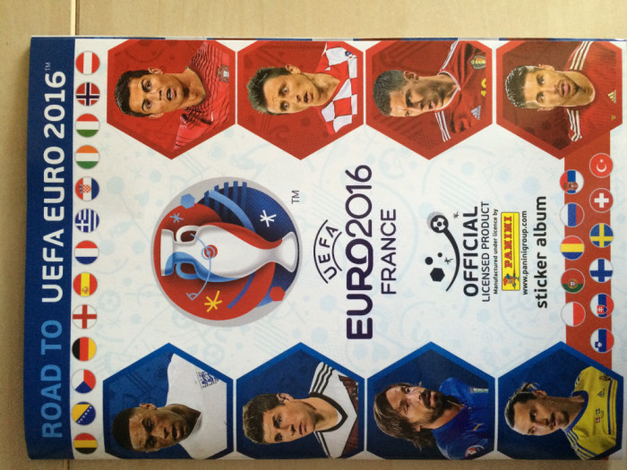 Panini Road to Euro 2016 Album gol
