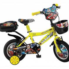"Bicicleta copii UMIT Racer ,culoare Galben, roata 14"" ,otelPB Cod:14480000003"