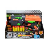 Pistol de jucarie cu ventuze si tinta, Gun soft Bullet