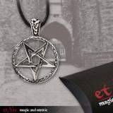 Pandantiv argint Pentagrama K460A
