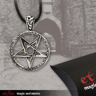 Pandantiv argint Pentagrama K460A foto