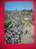 HOPCT 66940  ZIDUL PLANGERII-IERUSALIM   -ISRAEL -STAMPILOGRAFIE-CIRCULATA