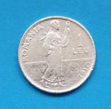 Moneda din Argint - 1 Leu 1910  Regele Carol