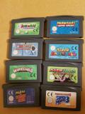 Vand 8 jocuri GBA , GB  ,game boy advance , gameboy  , MARIO