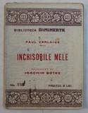 INCHISORILE MELE de PAUL VERLAINE *BIBLIOTECA DIMINEATA