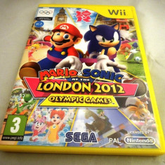 Mario and Sonic at the Olympic games, London 2012, Wii, original, PAL